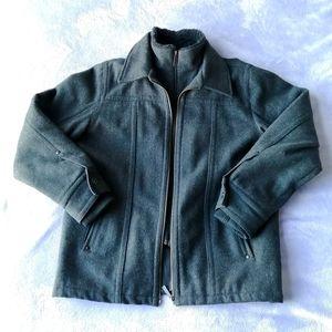 Point Zero Wool Blend Jacket Coat